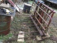 Agricultural farm Hydraulic push off buck rake