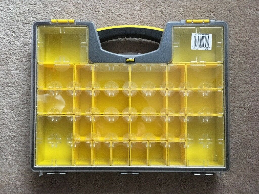 Stanley Organiser - 26 Compartment