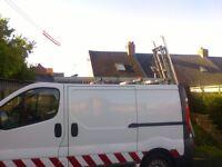 Vauxhall Vivaro easi-load ladder rack (bristor)