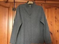 Grey TU Jumper / Sweatshirt Size Large