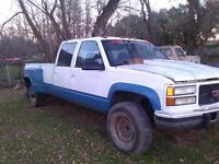 GMC 3500 diesel for sale. parts only