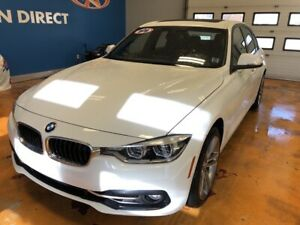 2018 BMW 330 i xDrive AWD/ HEATED + POWER MEMORY LEATHER SEAT...