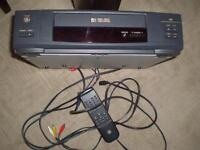 General Electric VCR + Cable + remote