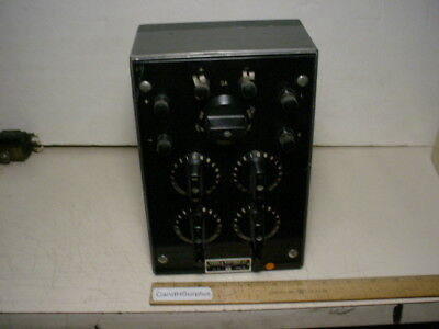 Ln 4760 D-c Wheatstone Bridge With Manual