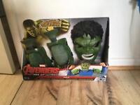 Marvel Hulk muscles and mask. New in box.