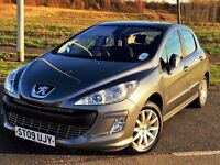 EXCELLENT MPG!!! 2009 PEUGEOT 308 SE 1.6 - 5 DOOR - LONG MOT - SERVICE HISTORY - SUPERB TO DRIVE