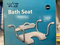 New Bath Room Bath Seat Home Aid, disabled, mobile, home, holiday, car phone
