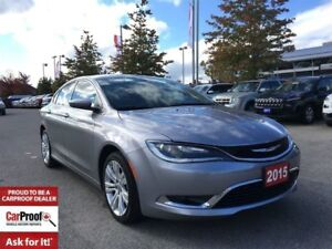 2015 Chrysler 200 LIMITED**HEATED SEATS**REMOTE START**