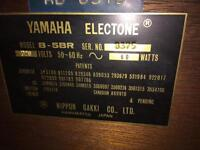 Yamaha Electone organ Fantastic Condition