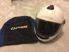 LS2 Motorcycle helmet White