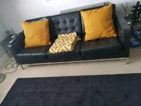 3 piece sofa with chair