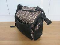 Travel Booster Seat/ Diaper Bag