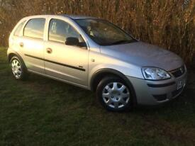 DIESEL 2006 CORSA - 1 YEARS MOT - £30 ANNUAL ROAD TAX