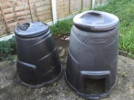 X2 Compost Bins