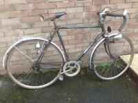 Large frame classic / Retro Raleigh road bike
