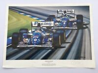 Colin Carter Formula 1 Print - THE BEST DAY OF MY LIFE Number 215/500