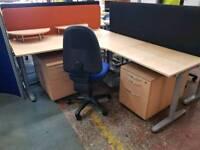 Large Office Corner Desk With divider