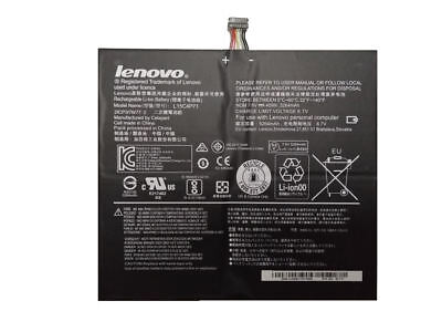 New Genuine Lenovo MIIX-710-12IKB 7.6V 40Wh Laptop Battery 5B10J40259