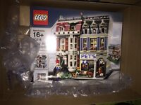 Lego Pet Shop 10218.new, boxed and unopened