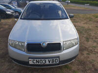 (03) SKODA FABIA CLASSIC 1.2CC HTP 54, MOT JUNE 2019 DELIVERY OPTION AVAILABLE