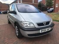 Vauxhall Zafira MPV 7 seater