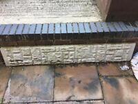 Free fence concrete gravel board