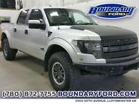 "2011 Ford F-150 4WD SuperCrew 145"" SVT Raptor W 6.2L"
