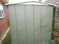 Metal shed 6 foot by 5 foot