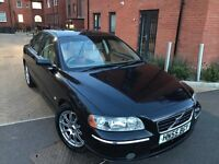 Volvo S60 2006 2.4 D5 SE Geartronic 4dr ** AUTOMATIC ** DIESEL** LEATHER HEATED SEATS ** LONG MOT