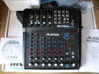 Alesis MultiMix 8 USB FX 8 Channel Mixer