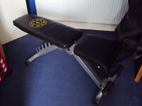 Gold`s Gym Utility Bench
