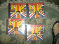 set of four CDs (Hits of the Sixties) all the old favourites by original artists