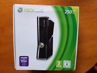 Xbox 360,Kinect,Two controllers,Wireless speed wheel and Ten games