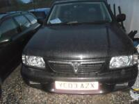 VAUXHALL FRONTERA 2.2 Sport Olympus 3dr spares repairs only. No Mot. �400 please read advert! 2003