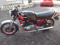 SUZUKI GSX 400 TWIN RARE MOTORCYCLE 1982