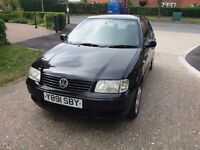 VOLKSWAGEN POLO 1.4 S 75 (Black) Excellent, lovely and very clean car. Must be seen