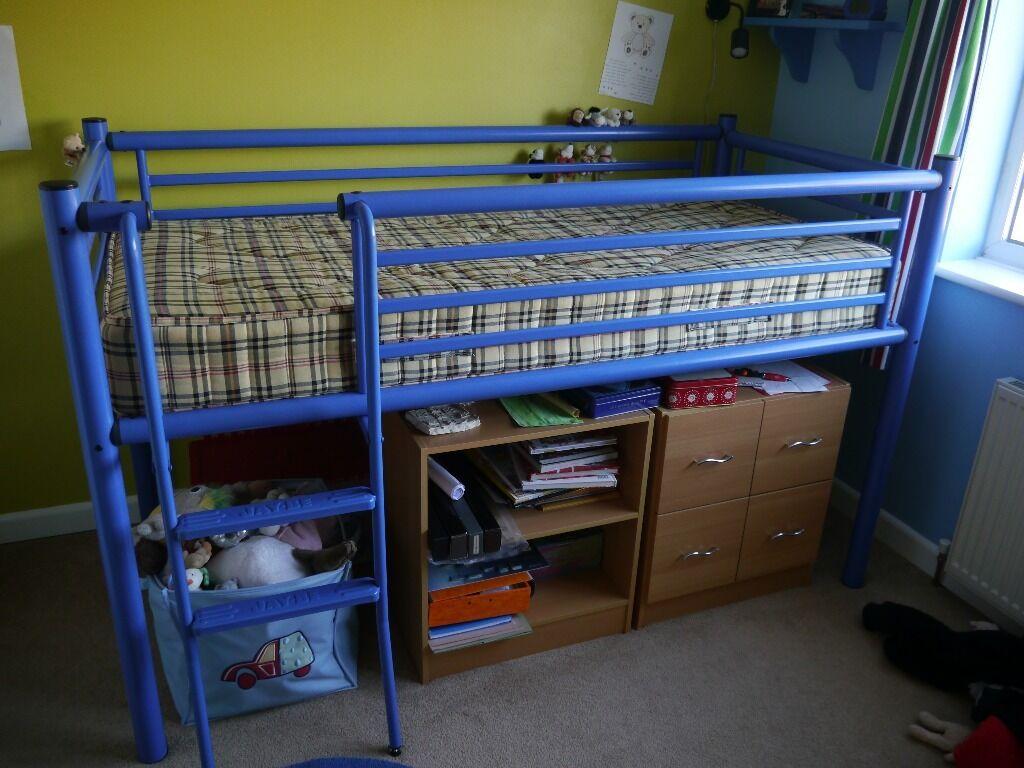 Jay-Be Blue Metal Frame Cabin Bed | in Norwich, Norfolk | Gumtree