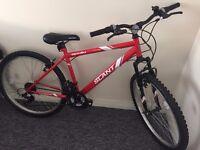 Red Apollo Bike for sale
