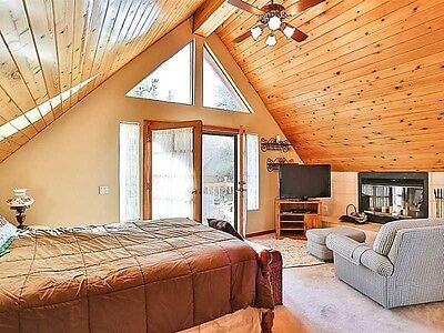 Famous Big Bear Luxury Cabin  Choose  2 Night 3 Day Stay  July  August  Sept