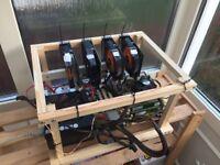 Mining rig 4 x 750ti