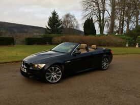 Convertible BMW M3 2010 with Full BMWSH. 59k Miles, Manual, 4.2L V8 engine, Sat Nav & Cruise control