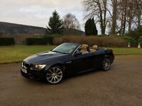 Convertible BMW M3 2010 with Full BMWSH. 59k Miles, Manual, 4.2L V8 engine, Sat Nav & Cruise control