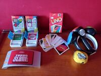Selection of games (inc. Uno & Scrabble Turboslam)