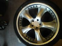 BMW alloys wheels 22