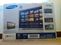 "Samsung UE22H5600 Series LED HD 1080p Smart TV, 22"" (£150 ONO)"