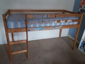 Pine junior cabin bed for sale