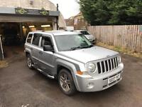 JEEP PATRIOT 4x4 CRD LIMITED 2.0 TDI 89k miles BIG SPEC HEATED LEATHER BOSTON ETC LAND ROVER RAV4 px