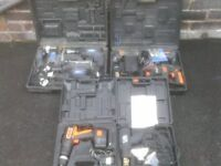 CORDLESS AND ELETRIC POWER TOOLS £20 TO £35 EACH
