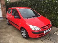 Hyundai Getz gsi 2006 3dr hatch 1.1l perfect first car low mileage 49K 2 keys 2 owners from new