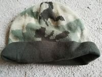 Camouflaged Wool Hat